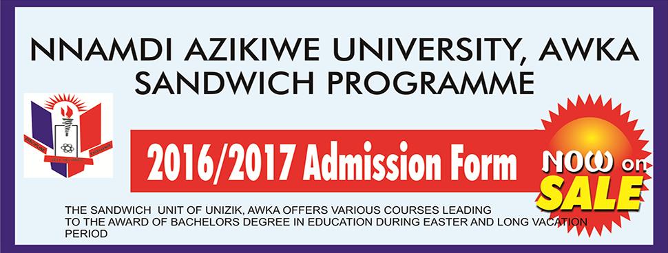UNIZIK Sandwich Programme
