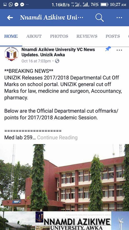 fake 2 - Nnamdi Azikiwe University